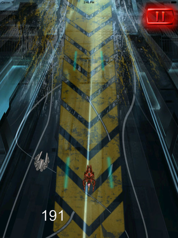 Super Spacecraft Track Pro - Game Ship Fighter Lightning screenshot 8