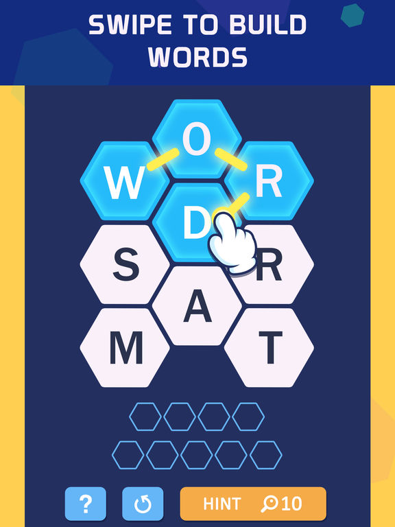 Word Spark Hexa - Block Puzzle screenshot 6
