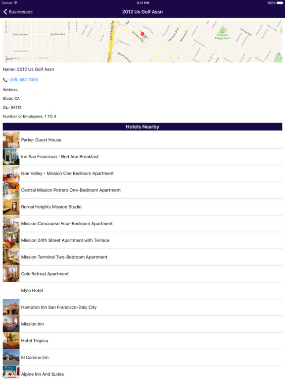 i4sanfrancisco - San Francisco Hotels & Businesses screenshot 10
