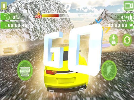 Real Snow Drifting Racer : 3D Hill Fast Drive screenshot 7