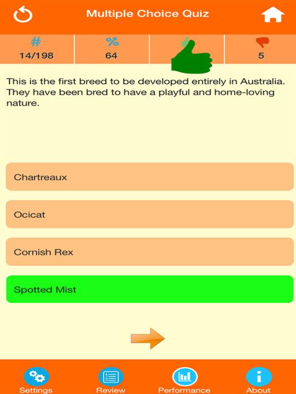 Cat Breeds Quiz screenshot 8