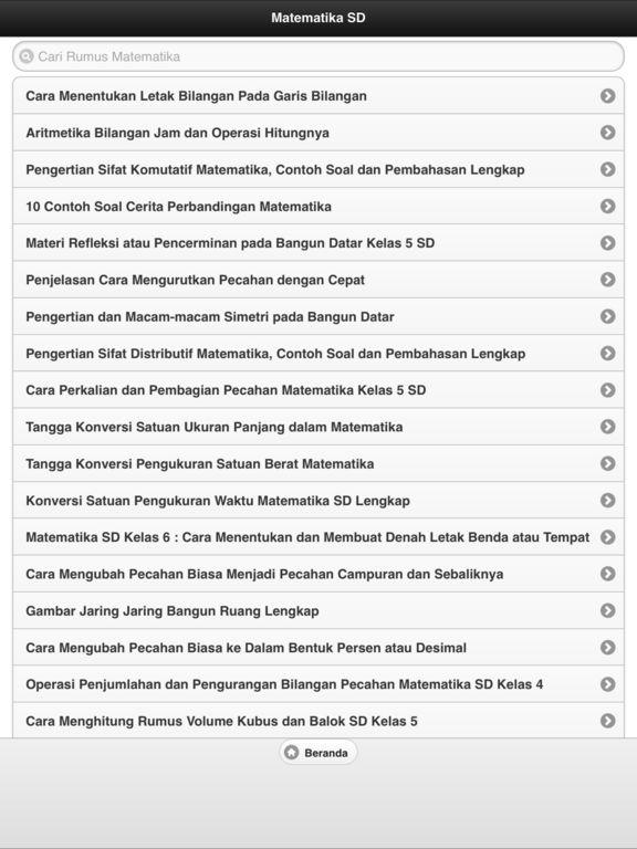 Rumus Matematika Lengkap Apps 148apps