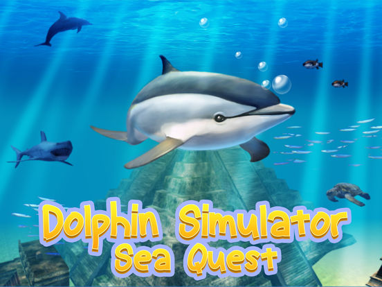 Ocean Dolphin Simulator: Animal Quest 3D Full screenshot 5