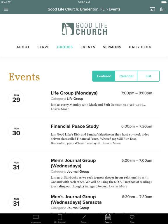 Good Life Church screenshot 5