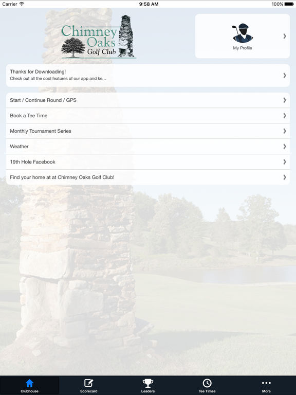 Chimney Oaks Golf Club screenshot 7