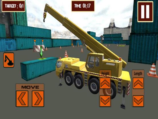 Real Crane CPEC : 3D Sim-ulation Game-s 2016 screenshot 4