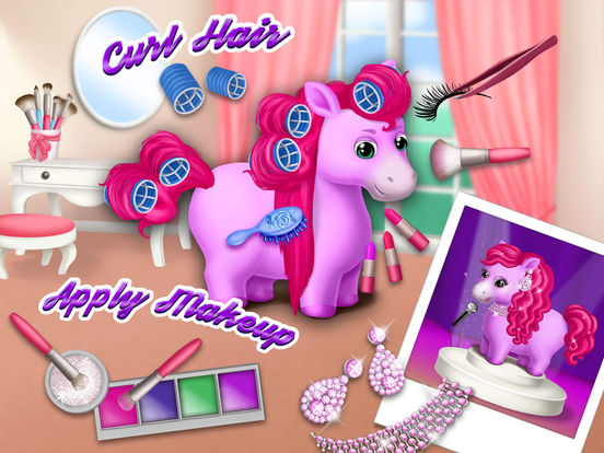 Pony Sisters Hair Salon 2 - Pet Horse Makeover Fun screenshot 8