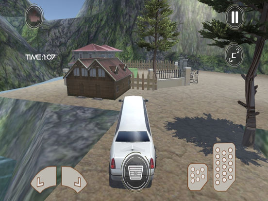 Off-Road Limousine Taxi screenshot 6