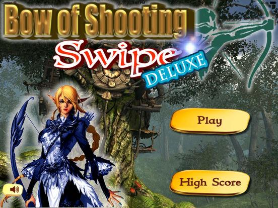 Bow of Shooting Swipe Deluxe Pro - Target Shooting Game screenshot 6