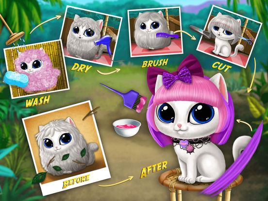 Baby Animal Hair Salon 2 screenshot 8