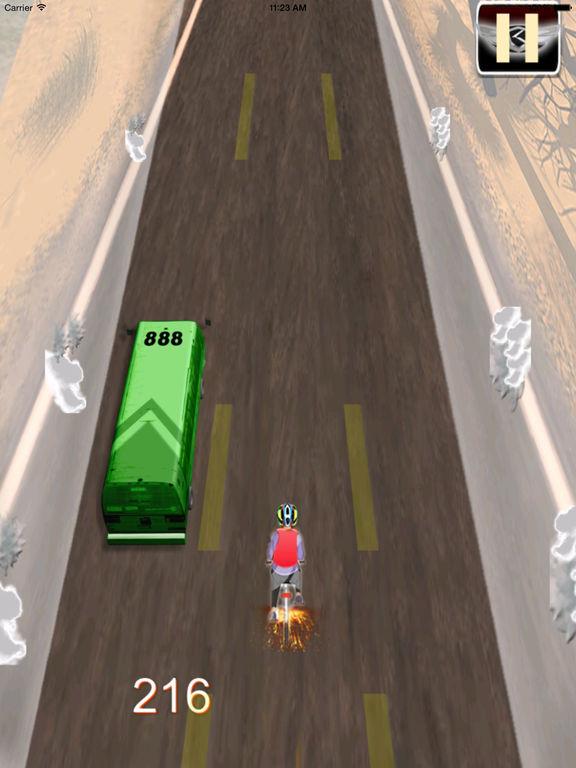 A Road Cycling Runner - A Xtreme Adrenaline screenshot 10