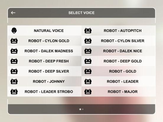 Robot Voice Booth screenshot 4