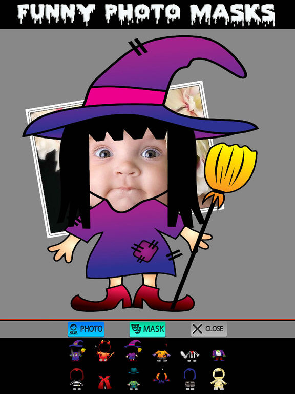 Halloween Cards and Photo Frames screenshot 7