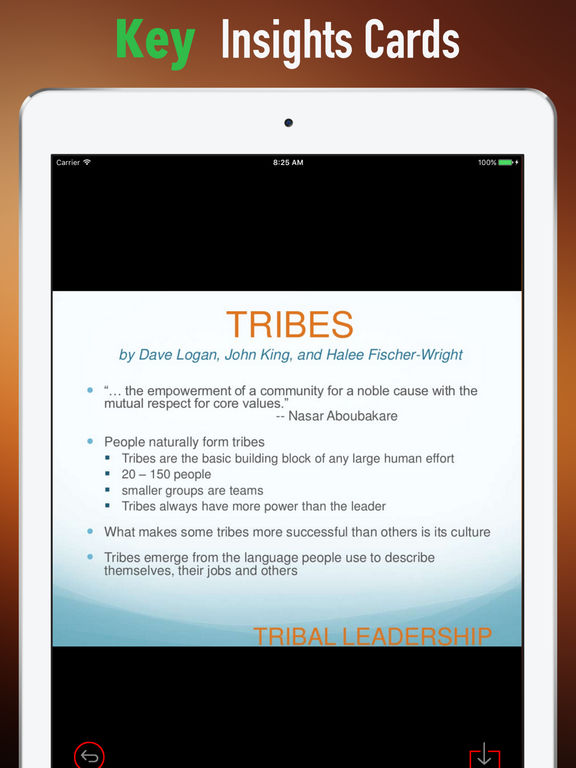 Quick Wisdom from Tribal Leadership-Natural Groups screenshot 9