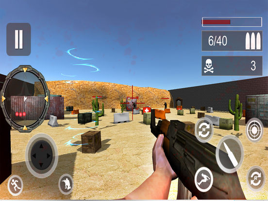 Frontline Counter Shooter: Adventure Warfare screenshot 4