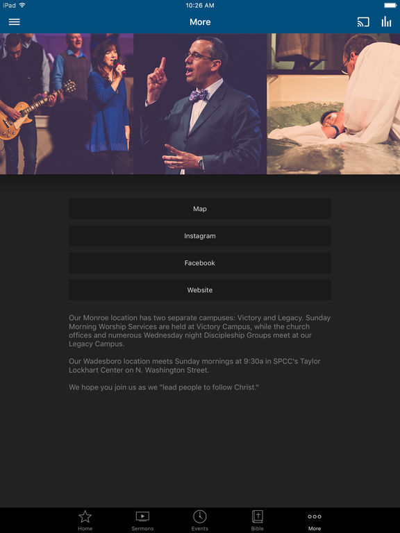 Hopewell Baptist screenshot 6