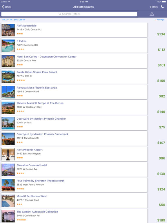 i4phoenix - Phoenix Hotels, Yellow Pages Directory screenshot 8