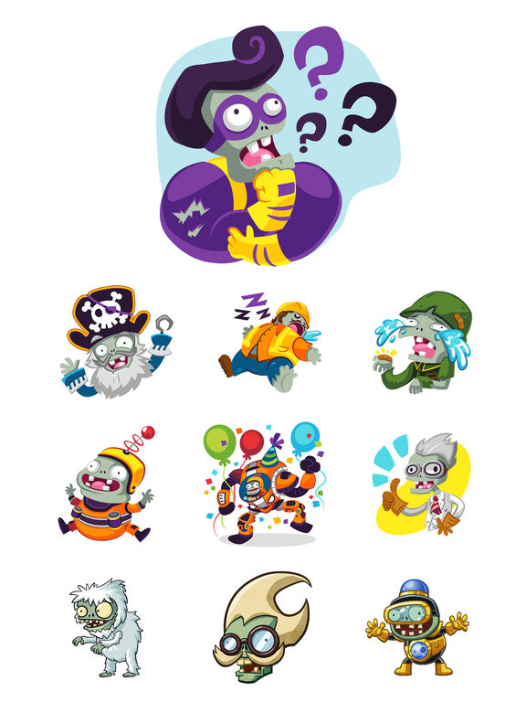 Plants vs Zombies™ Stickers screenshot 5