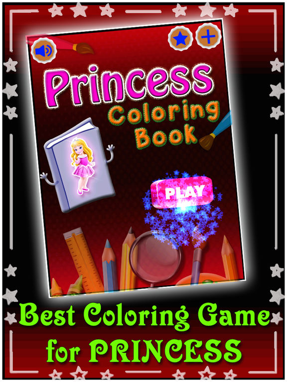 Princess Coloring Book For Kids & Adults screenshot 6