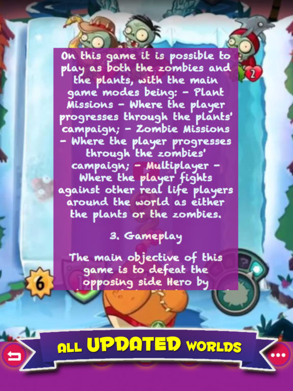 Free Guide For Plants vs. Zombies Heroes screenshot 4