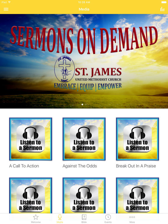 St. James UMC Alpha screenshot 5