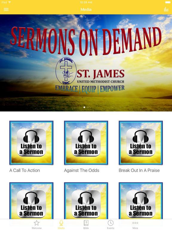 St. James UMC Alpha screenshot 5