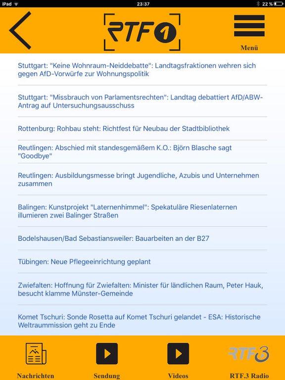 RTF.1 Regionalfernsehen screenshot 8