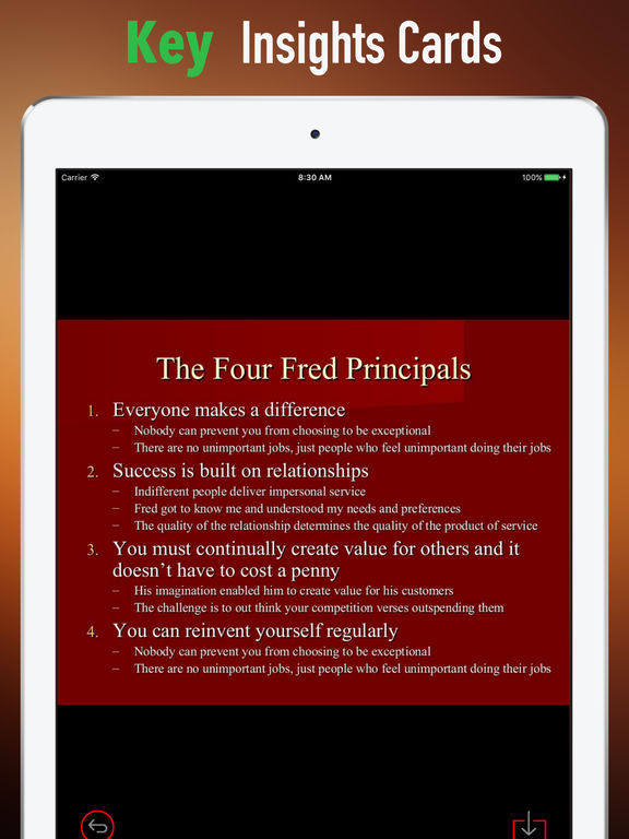 Quick Wisdom from The Fred Factor-Extraordinary screenshot 9