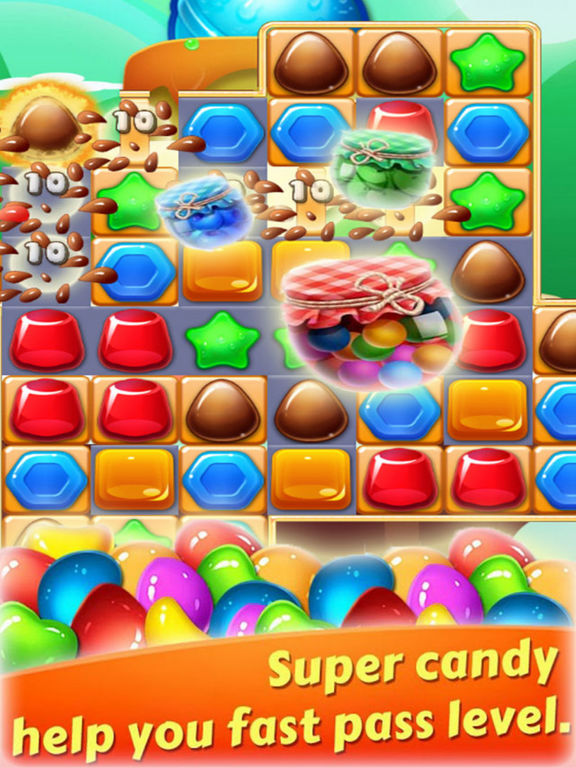 Magic Jelly Clast - Candy Link screenshot 6