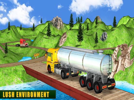 Mountain Cargo Adventure : Oil Delievery Transport screenshot 6