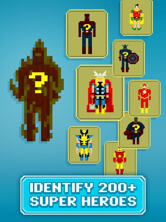 Guess the Pixel: Comics Super Heroes screenshot 7