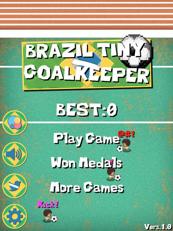 Brazil Tiny Goalkeeper screenshot 6