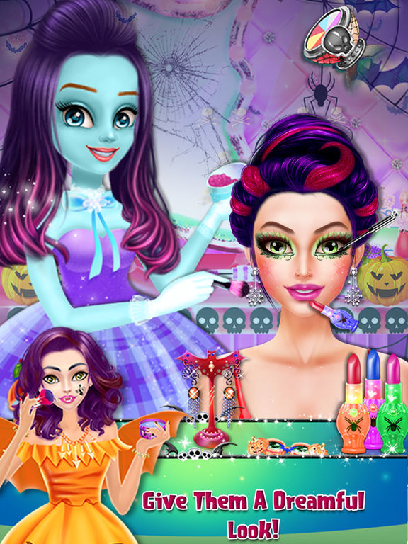 Halloween Scary Girl Makeover screenshot 7