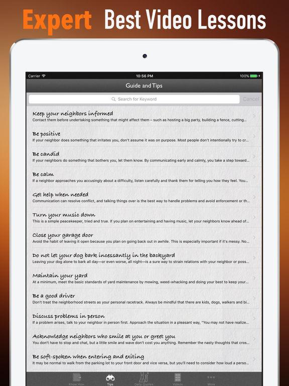 Neighbor Relationship Maintenance-Tips and Guide screenshot 8
