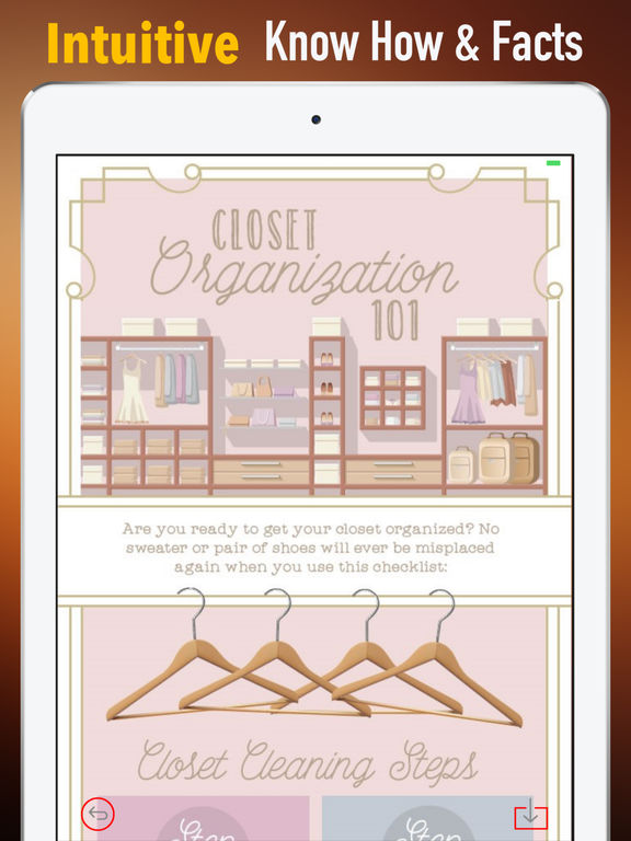 Organizing Closet Guide-Hollywood Design and Style screenshot 5