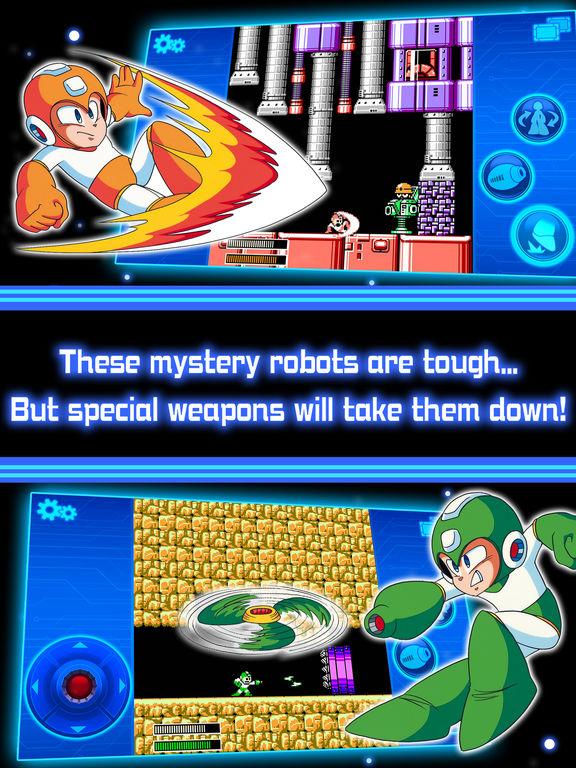 MEGA MAN 5 MOBILE screenshot 7