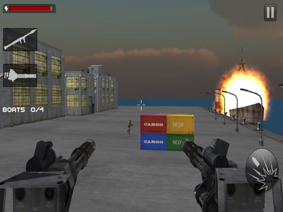 Seaport Defence Fighter : 3D Action Game screenshot 6