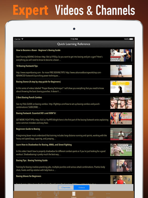 Boxing Guide-Quick Learning Reference and Top News screenshot 7
