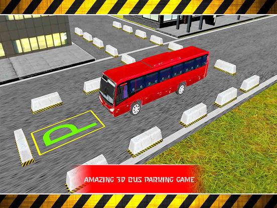 Snow Bus Parking : Free Par-King Sim-ulator Game-s screenshot 5