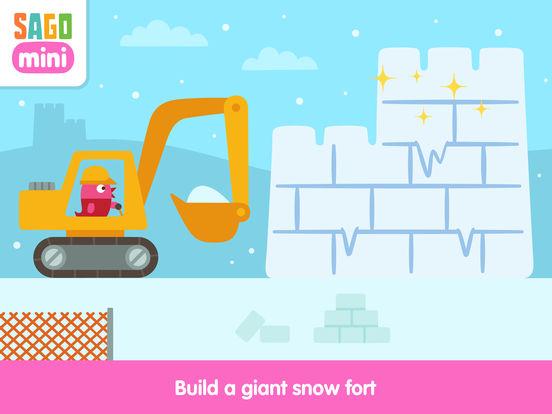 Sago Mini Holiday Trucks and Diggers screenshot 7
