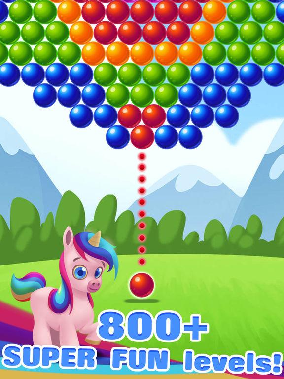 Bubble Shooter Unicorn screenshot 7