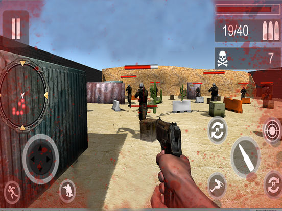 Frontline Counter Shooter: Adventure Warfare screenshot 5