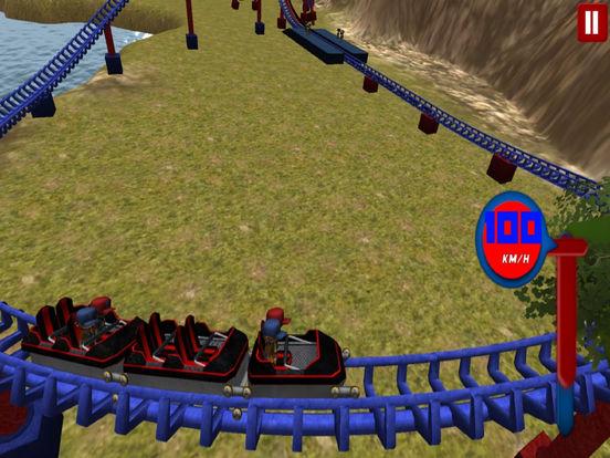 Lake Roller Coaster : 3D Hill Ride 2016 screenshot 5