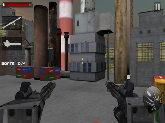 Seaport Defence Fighter : 3D Action Game screenshot 7