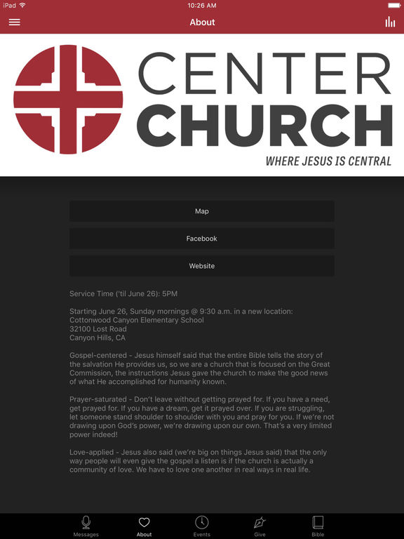Center Church screenshot 5
