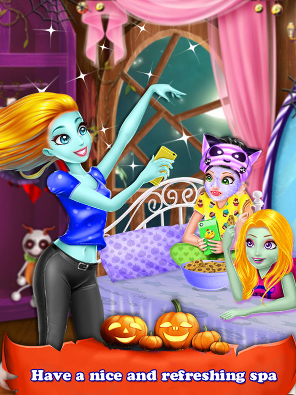 Halloween Holiday Girl Salon screenshot 6