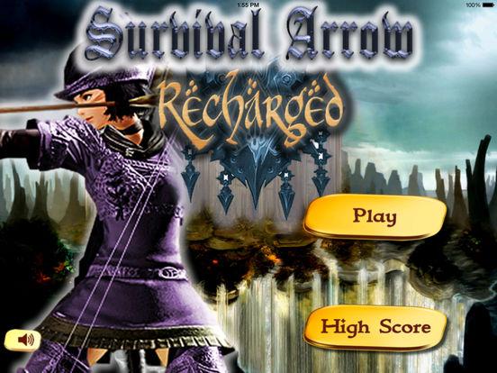 Survival Arrow Recharged Pro - A Fun Game To Marksmanship Maximum screenshot 6
