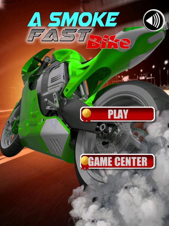 A Smoke Fast Bike - Games Deadly Race screenshot 6