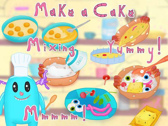 Monster Family Fun - Monster Dress Up & Baking screenshot 6