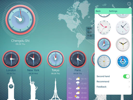 World Clock 2 screenshot 6